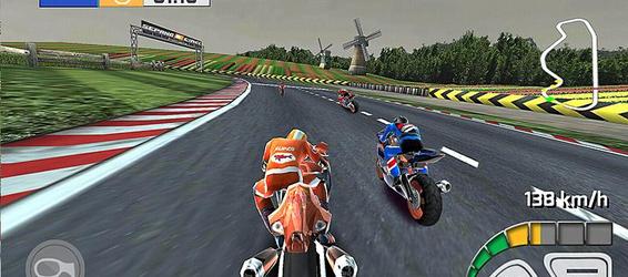 Imagem de Corrida de Moto Real 3D