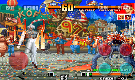 download the king of fighters 97 apk + data