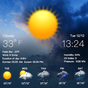 時計と天気予報ウィジェット 日本気象情報tennki