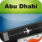 Abu Dhabi Airport+Flight Track